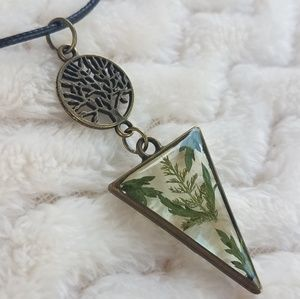 Fairy Style Pendant Necklace, Handcrafted NWOT